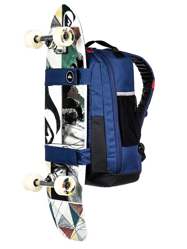 f576c54c98045 Quiksilver SKATE PACK II MEDIEVAL BLUE schulranzen   Swis-Shop.de