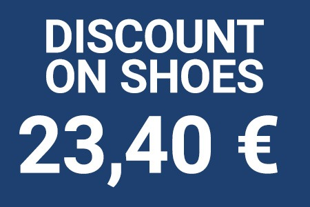 Discount on shoes 23,40 €